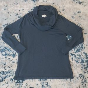NWOT Lou &Grey cowlneck sweater